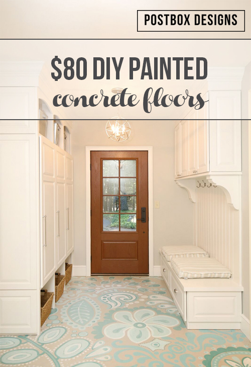 My Mudroom Floors 80 Makeover How To Paint Your Ugly