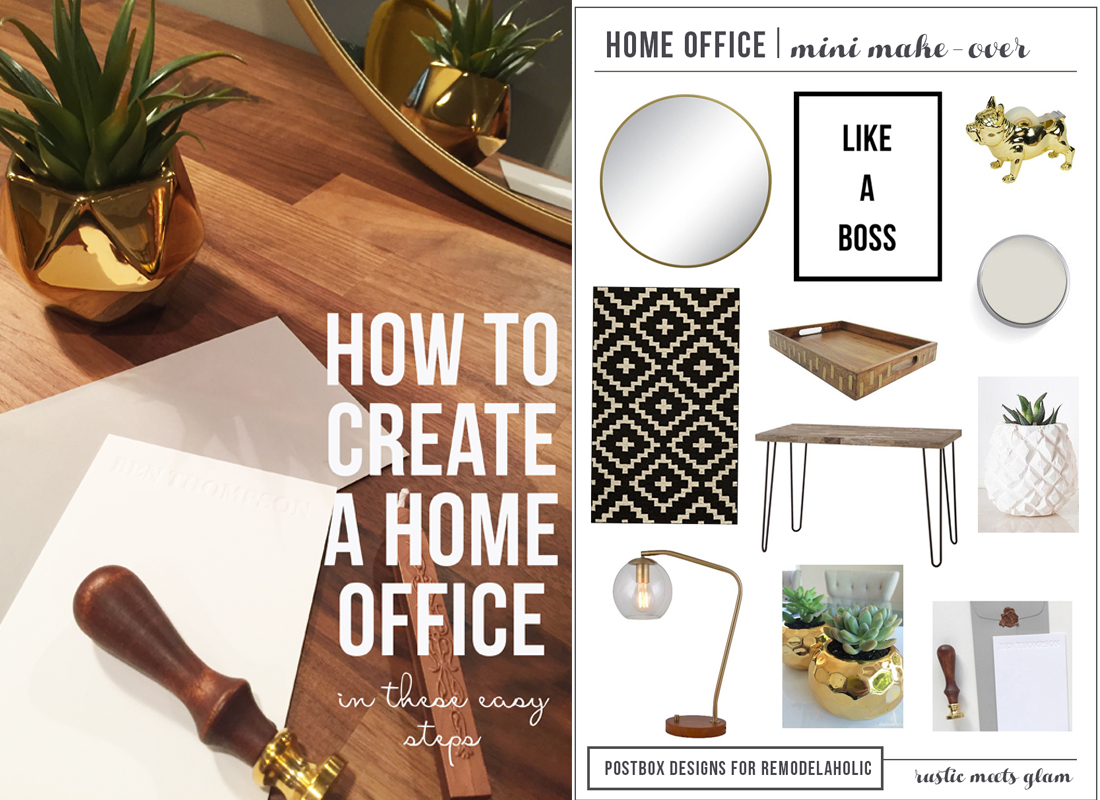 Create The Perfect Home Office Design In Minutes Free Shopping List