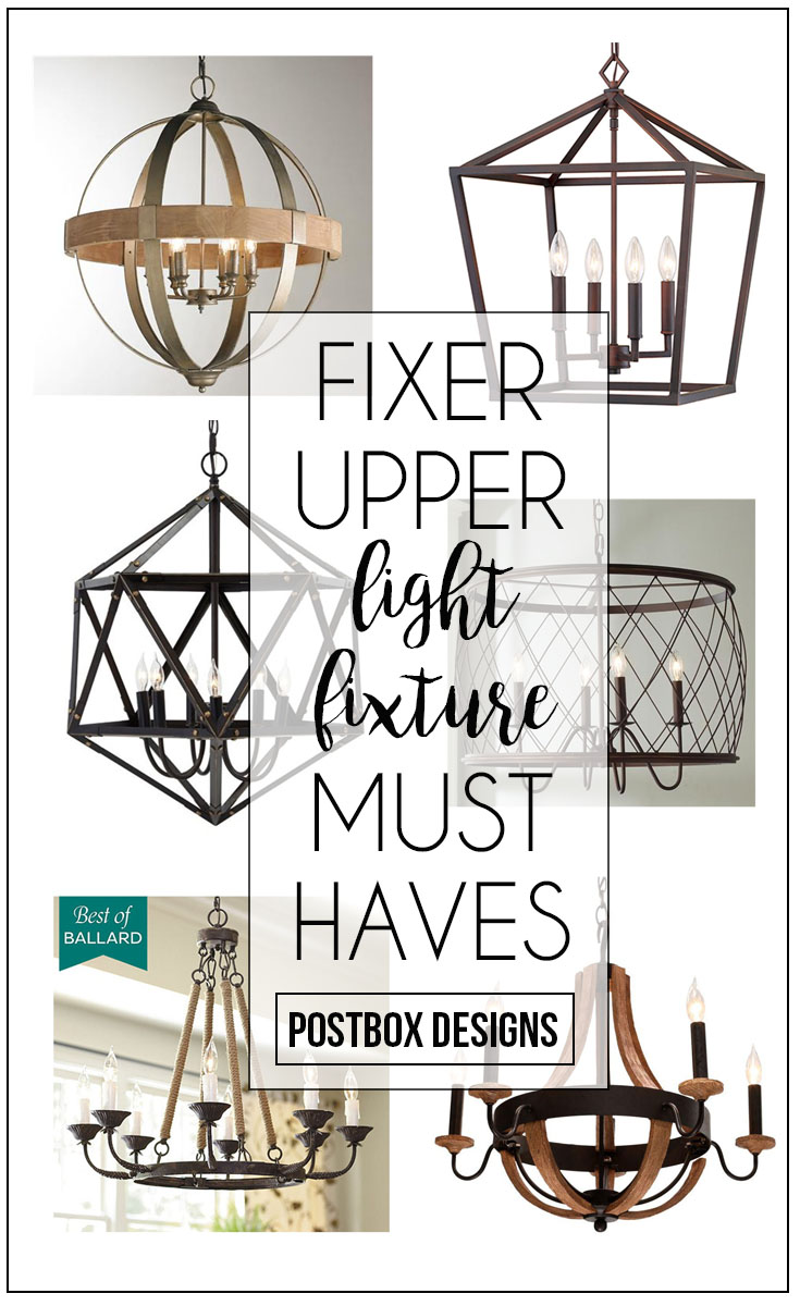 6 Steps To A Fixer Upper Room Chandeliers