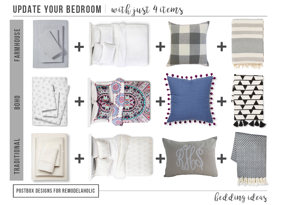 Bedroom Items. Bedding Round Up Mood Board  16 Pieces to Update your Bedroom TODAY Postbox Designs
