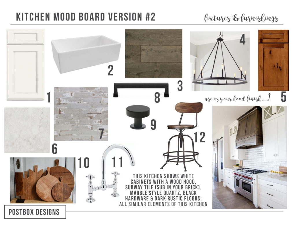 Farmhouse kitchen 4 mood boards to create your dream for To do board for kitchen