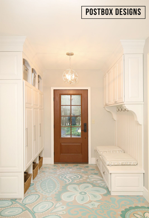 Makeover Reveal 80 Painted Floors