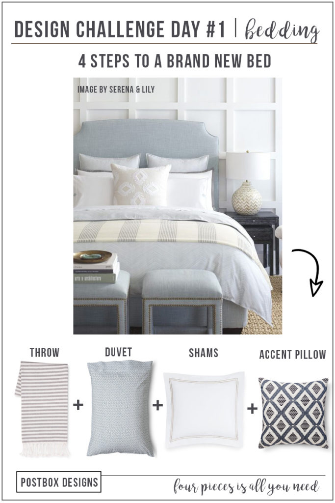 5 Day Design Challenge Day 1 4 Items 20 Minutes To A New Master Bedroom Postbox Designs