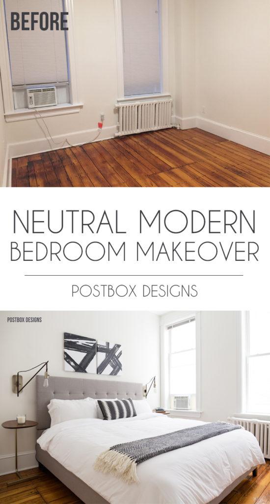 Neutral Modern Boho Bedroom Makeover Reveal: See the ... on Modern Boho Bedroom  id=72598