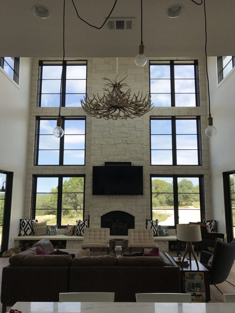 Rustic Meets Boho Living Room Makeover In The Lone Star