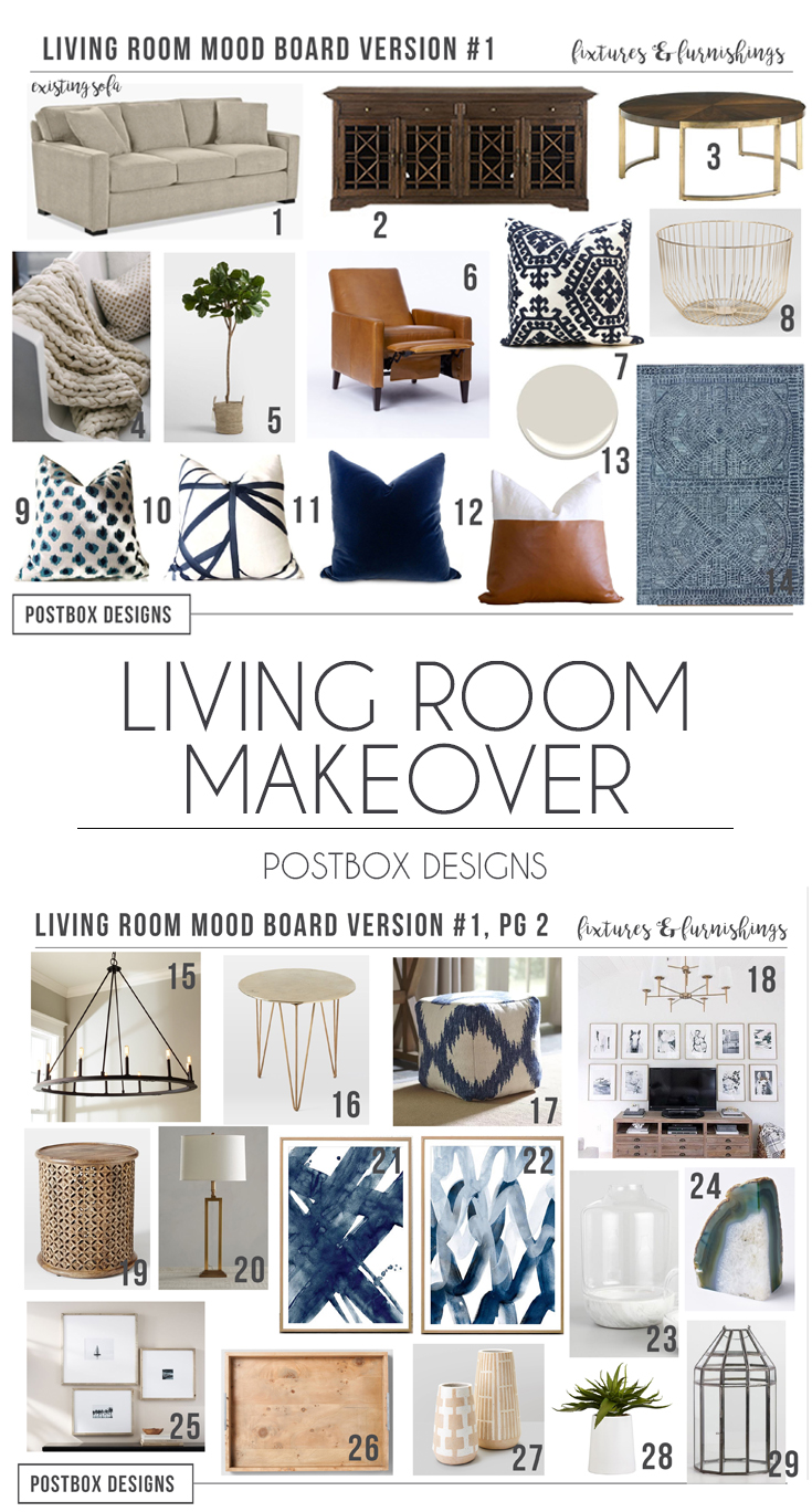 Room Makeover Reveal Modern Meets Traditional Transitional