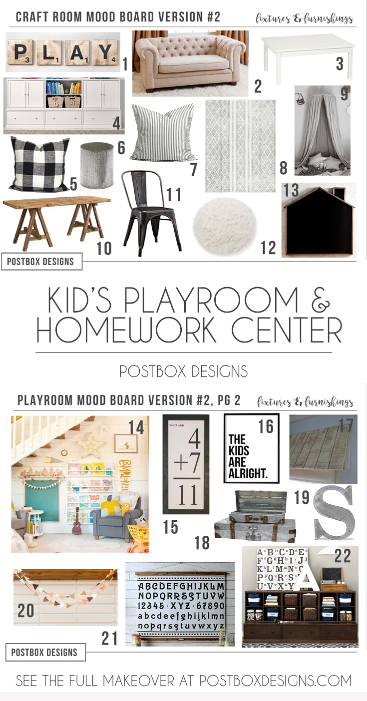 Marvelous Farmhouse Kid Playroom Design Ideas Postbox Designs E Design Gmtry Best Dining Table And Chair Ideas Images Gmtryco