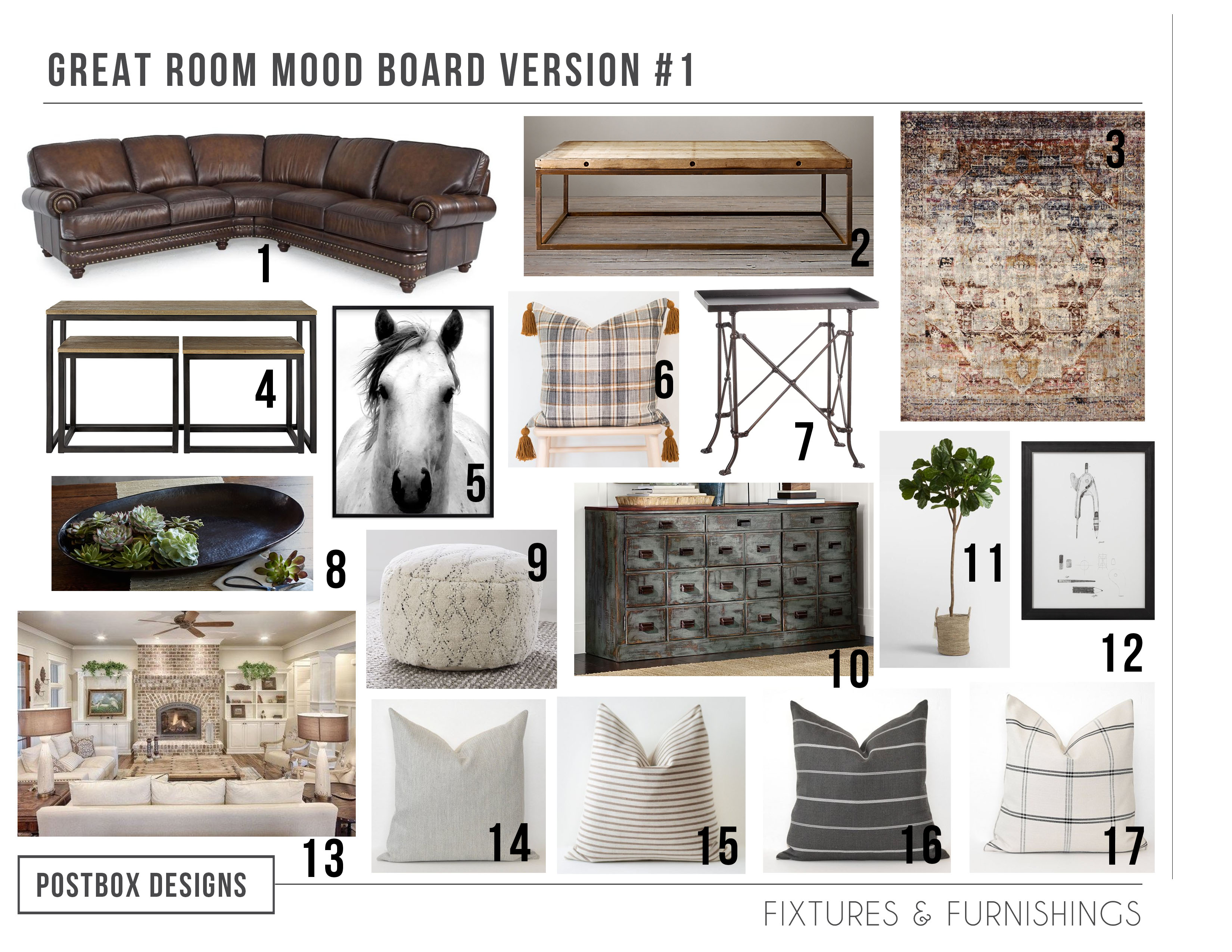 Get The Look Check Out This Neutral Farmhouse Whole House