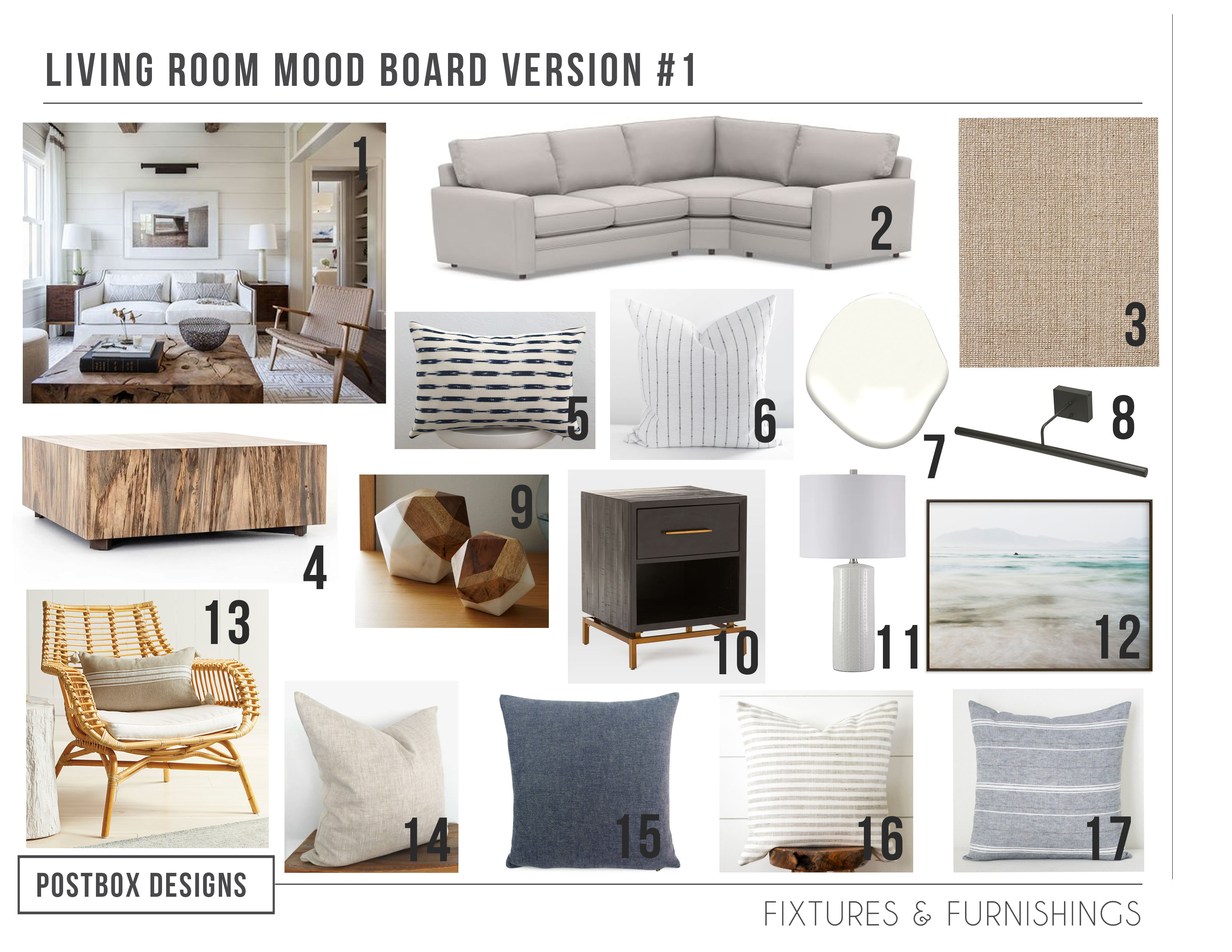 Get the Modern Coastal Look for your Living Room (Minus the ...