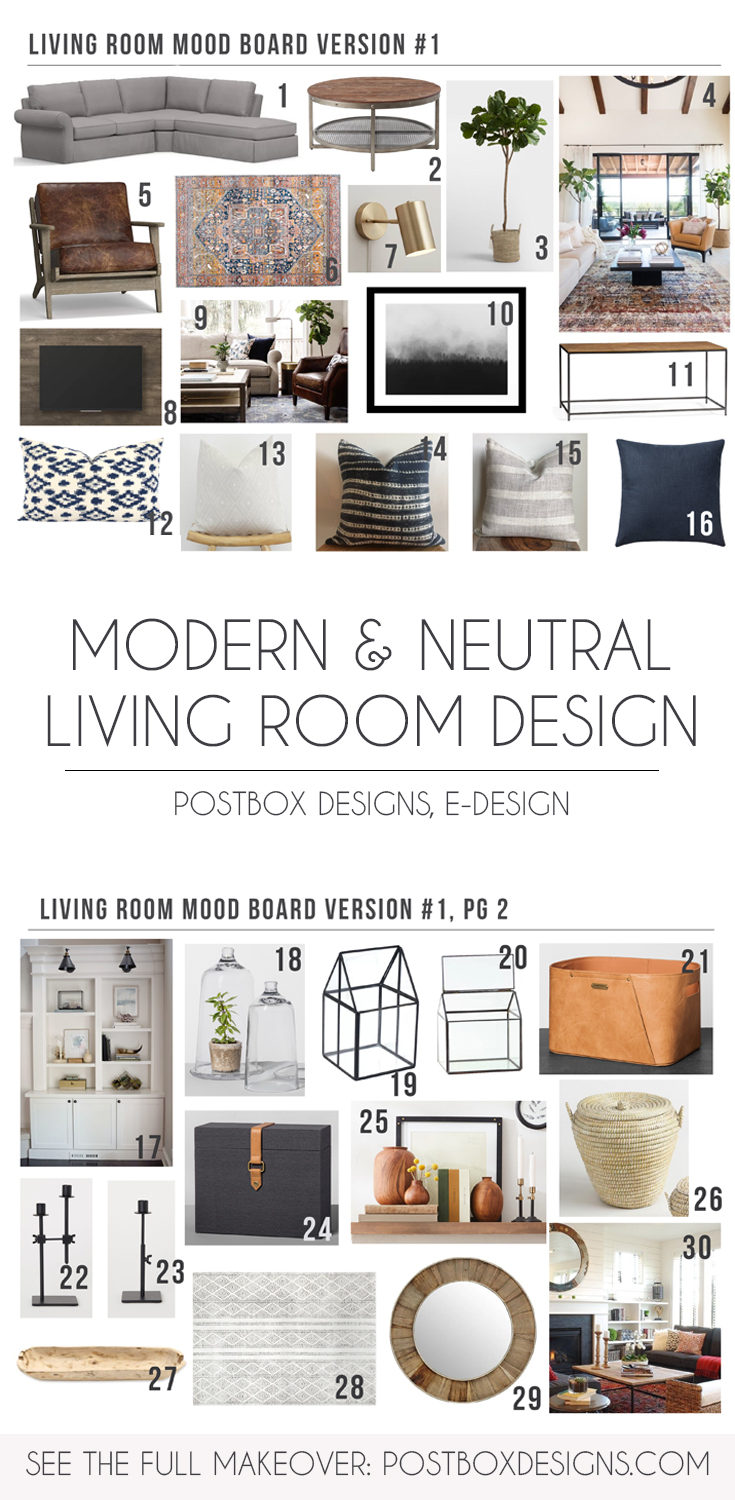 5 Ways to Create a Rustic Neutral Living Room in Your Home ...