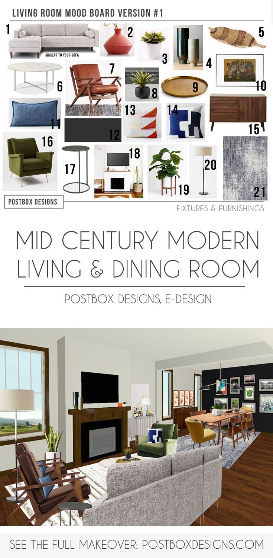 Do Family Friendly Mid Century Modern Design Go